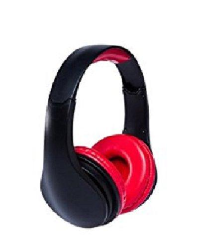SAKAR iConcepts #DeeJay XL Headphones - Black/Red