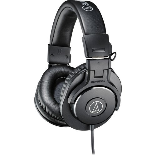 Audio-Technica  ATH-M30x Monitor Headphones (Black)