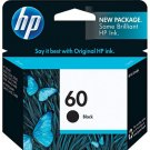 HP 60 Black Ink Cartridge - CC640WN#140