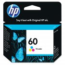 HP 60 Tri-Color Ink Cartridge - CC643WN#140