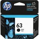 HP 63 Black Ink Cartridge - F6U62AN#140