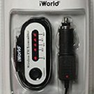 iWORLD Prime Audio Wireless FM Transmitter - Black