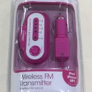 iWORLD Prime Audio Wireless FM Transmitter - Pink/Purple