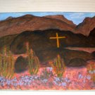 THE MOJAVE CROSS/ACRYLIC/ORIGINAL/NEW/