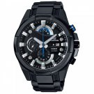 Men Watch Casio Edifice EFR-540BK-1AV Chronograph Stainless Steel Polished sTRAP