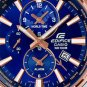 Casio Edifice EFR-303PG-2A Chronograph Stainless Steel Quartz Color Blue