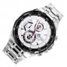 Casio Edifice EFR-539D-7A Chronograph Stainless Steel Quartz Color White