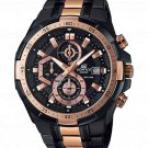 Casio Edifice EFR-539BKG-1A Chronograph Stainless Steel 50mm Polished Strap