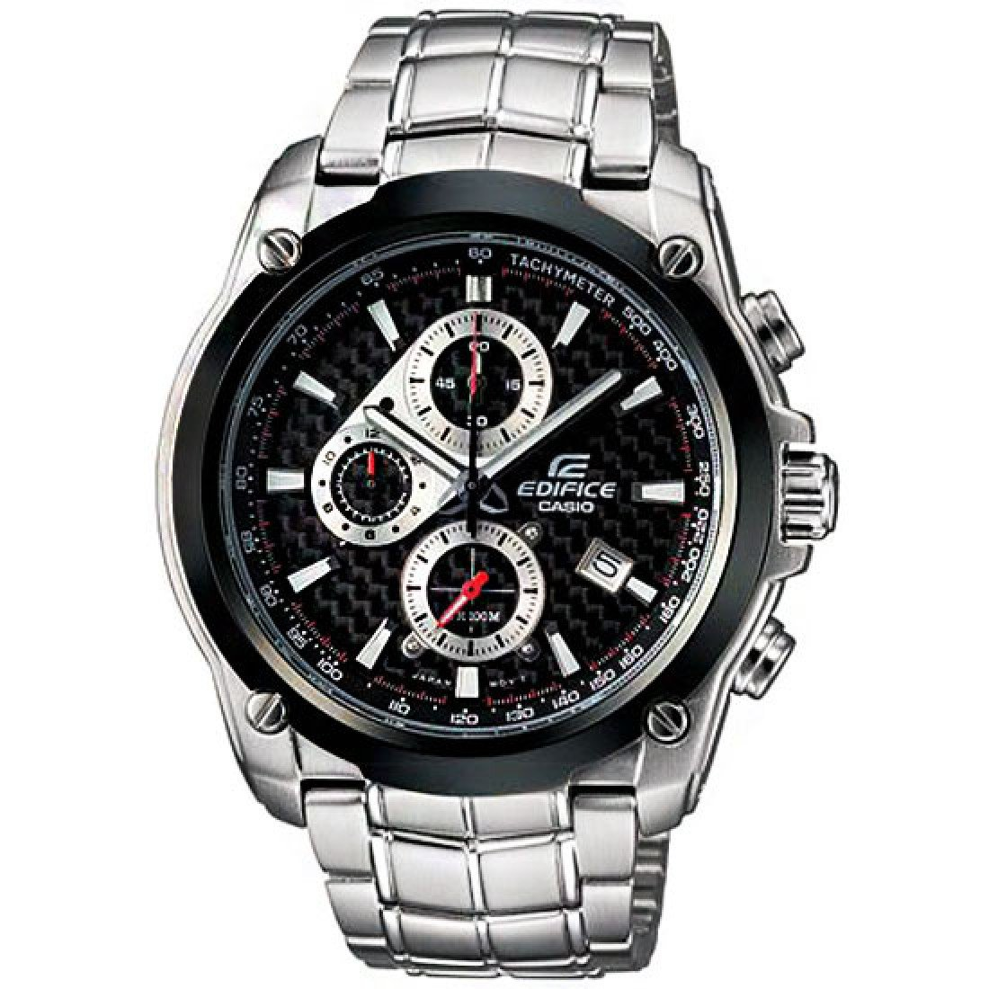 Casio Edifice  EF-524SP-1AV Chronograph Stainless Steel Size 43mm Color Black