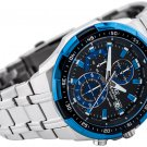 Casio Edifice EFR-539D-1A2V Chronograph Stainless Steel Quartz Color Black