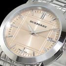 men Watch Burberry Heritage BU1352 Size 38mm Stainless Steel Movement Quartz