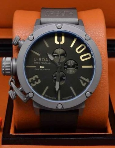 Men Watch U-Boat 1001 Chronograph Stainless Steel Case Size 50mm
