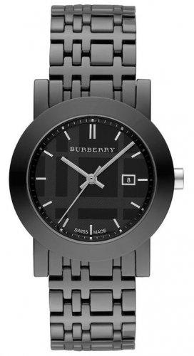 Women Watch Burberry BU1871 Ceramic Case Dial Size 34mm Color Black