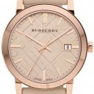 Women Watch Burberry BU9014 Large Check Stainless Steel Size 38mm