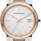 Women Watch Burberry BU9105 Stainless Steel Size 34mm Silver Color Strap