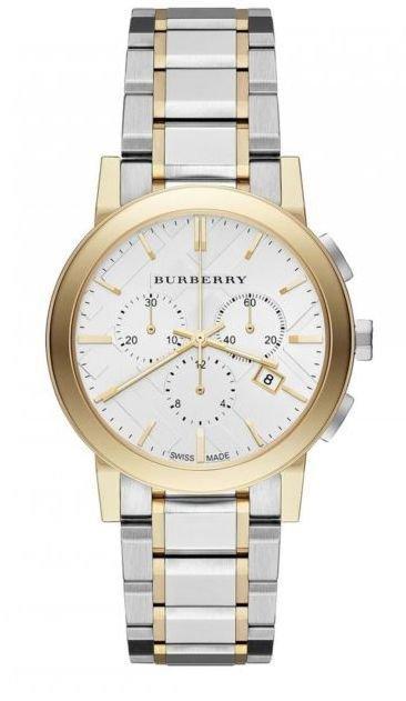 Women Watch Burberry BU9751 Chronograph Stainless Steel Size 38mm