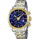 Festina  F16655/3 Men Watch Cheonograph Stainless Steel Dial Color Blue