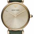 Women Watch Emporio Armani AR1726 Stainless Steel Size 32mm Color Champagne