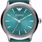 Women Watch Emporio Armani AR1804 Stainless Steel Size 28mm Color Green