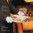 The Seasons of Veuve Clicquot : A Social Cookbook for All Celebrations by...