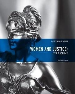 Women and Justice : It's a Crime by Roslyn Muraskin (2010, Paperback, Revised)