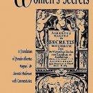 SUNY Series in Medieval Studies: Women's Secrets : A Translation of...