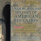 The Underground History of American Education : A School Teacher's Intimate...
