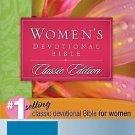 Women's Devotional Bible: New International Version (1990, Hardcover)
