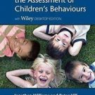 A Handbook for the Assessment of Children's Behaviours by Peter Hill and...