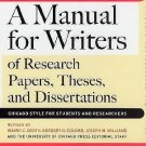 Chicago Guides to Writing, Editing, and Publishing: A Manual for Writers of...
