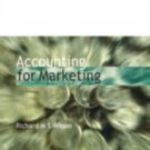 Accounting for Marketing by Richard M. S. Wilson (1999, Paperback)