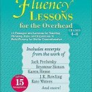Fluency Lessons for the Overhead: Grades 4-6 by Alyse Sweeney