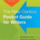 The New Century Pocket Guide for Writers by Thomas N. Huckin and Christine A…