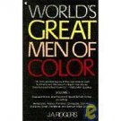 World's Great Men of Color Vol. 1 by J. A. Rogers (1972, Paperback)