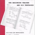James A. Michener : The Beginning Teacher and His Textbooks by G. L. Dybwad...