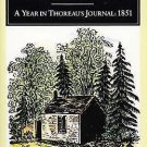 A Year in Thoreau's Journal : 1851 by Henry David Thoreau (1993, Paperback)