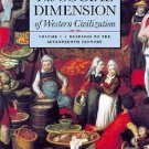 The Social Dimension of Western Civilization Vol. 1 by Richard M. Golden...