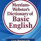 Merriam-Webster's Dictionary of Basic English (2009, Paperback, New Edition)