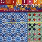 Quilter's Favorites Vol. 1 : Traditional Pieced and Appliqued (2009, Paperback)