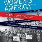 Women's America : Refocusing the Past, Volume 2 by Linda K. Kerber, Cornelia...