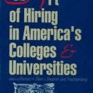 Frontiers of Education: The Art of Hiring in America's Colleges and...
