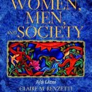 Women, Men, and Society by Claire M. Renzetti, Danie...