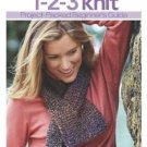 Better Homes and Gardens 1-2-3 Knit (2005, Paperback)