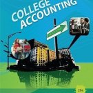 College Accounting Ch. 1-9, 10-15 by Robert W. Parry and James A. Heintz...