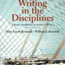 Writing in the Disciplines : A Reader and Rhetoric for Academic Writers by...