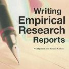 Writing Empirical Research Reports : A Basic Guide for Students of the Social...
