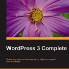 WordPress 3 Complete by April Hodge Silver (2011, Paperback, New Edition)