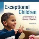 What's New in Special Education: Exceptional Children : An Introduction to...