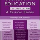 Sociology of Education : A Critical Reader (2010, Hardcover, Revised, New...