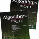 Algorithms in C++ Pts. 1-5 : Fundamentals, Data Structures, Sorting,...